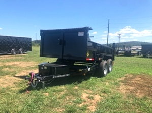 Dump Trailer 12ft 12000 For Sale  Dump Trailer 12ft 12000 For Sale. Bumper pull
