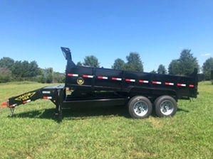 Dump Trailer 16ft Heavy Duty  Dump Trailer 16ft Heavy Duty. Heavy duty bumper pull