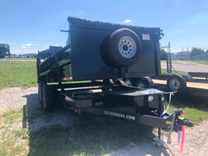 Dump Trailer 14k 14000 For Sale Dump Trailer 14k 14000 For Sale. Bumper pull