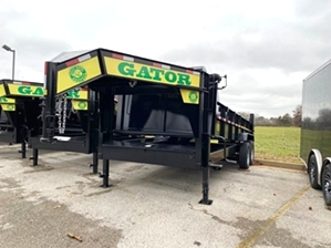Dump Trailer Gooseneck 14000 GVW  Dump Trailer Gooseneck 14000 GVW. Powder coat finish, scissor hoist, loading ramps, and tarp kit.