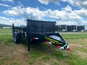 Dump Trailer By Gator Dump Trailer By Gator. Aardvark series dump trailer gatormade