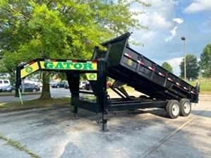 Rent To Own Gooseneck Dump Trailer  Rent To Own Gooseneck Dump Trailer. 16ft 16k gooseneck dump trailer with rent to own option