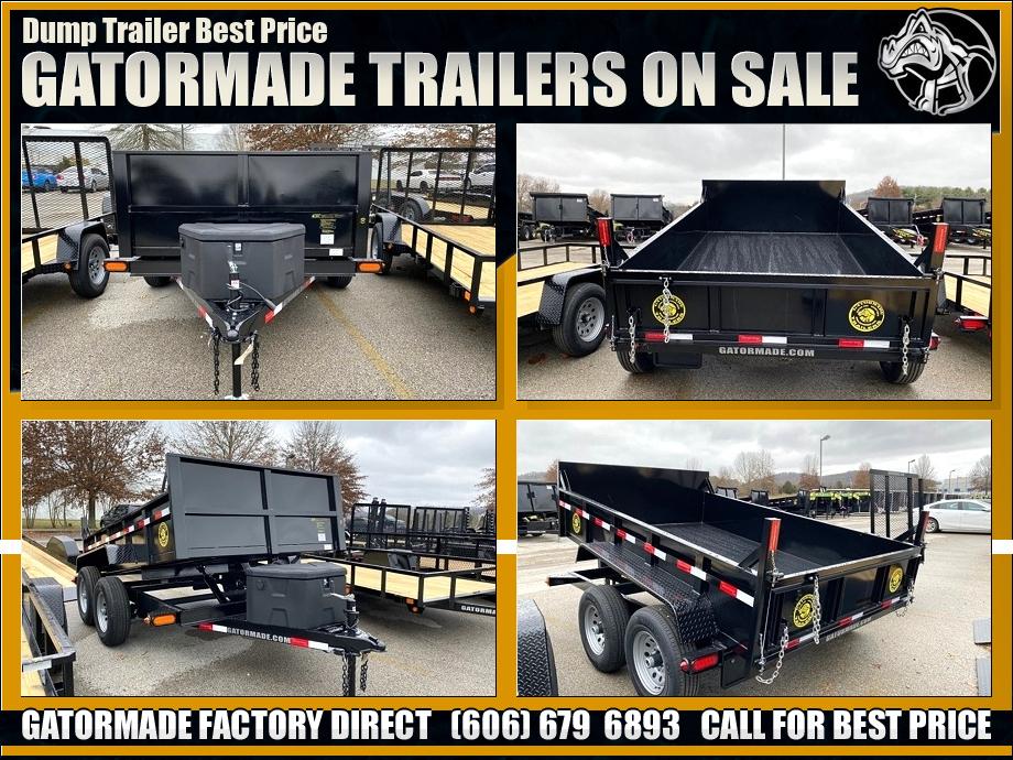 Image Dump Trailers Bumper Pull