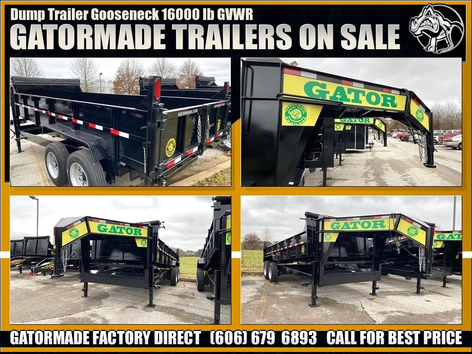 Dump Trailers Gooseneck